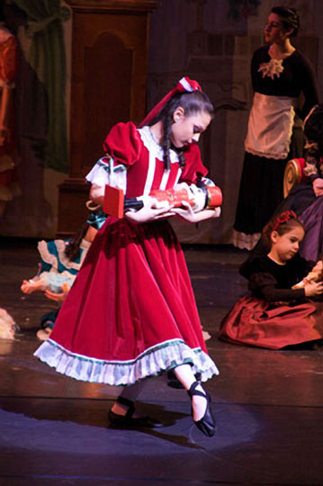 Clara in The Nutcracker