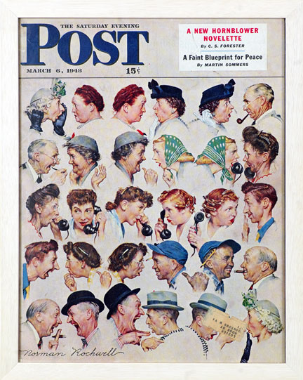 Gossips - Norman Rockwell