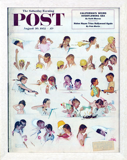 A Day In The Life Of A Little Girl - Rockwell