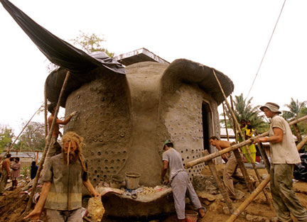 Andaman Islands Tsunami Relief Project in India - From the film Garbage Warrior by Oliver Hodge