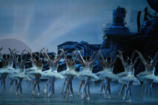 American Ballet Theatre's Swan Lake - Photo by Marty Sohl