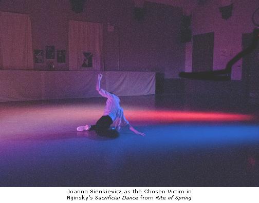 Joanna Sienkiewicz - RMBallet - Sacrifical Dance - Rite of Spring - Photo by Arthur Coopchik
