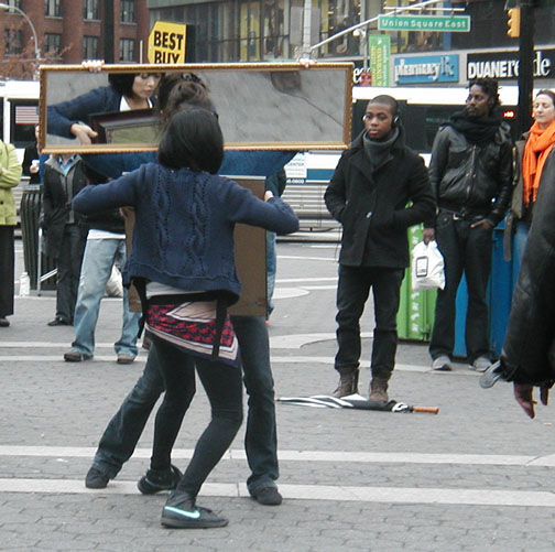 Dancers in Union Square