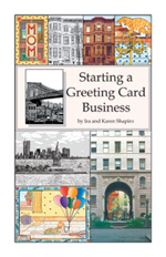 cover of booklet Starting a Greeting Card Business
