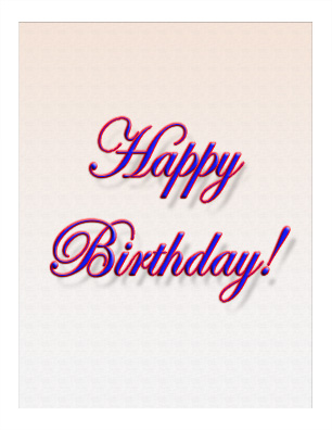 Birthday Card BD-06