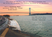 Brooklyn Theme Invitations