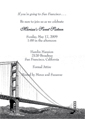 San Francisco Theme Invitation