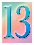 Birthday Number 13
