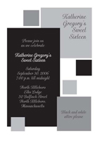 Black and white party invitations black and white theme party invitations from iras peripheral visions black and white invitation stopboris Gallery