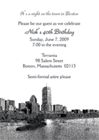 BostonTheme Invitations