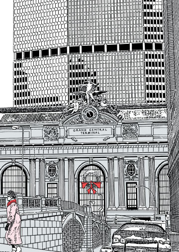 Christmas Card - Grand Central