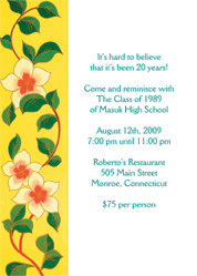 cr 02_th class reunion invitations,Reunion Invitation Wording