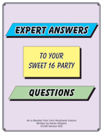 Cover - Expert Answers to your Sweet 16 Party Questions