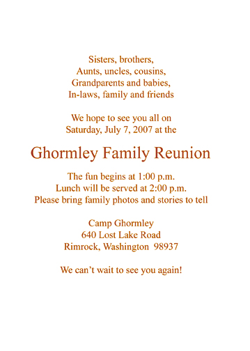 FR sample 02c_txt family reunion invitation style fr s2c,Reunion Invitation Wording