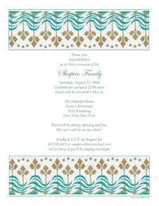 Family Reunion Invitation Letter. Family Reunion Party Invitation Template  Gathering Invitation Sample