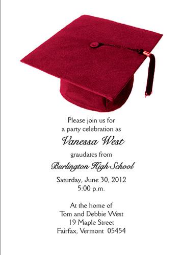 Sample Graduation Invitation gangcraftnet