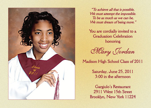 graduation lunch invitation wording