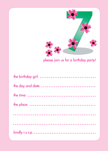 Children's Invitation