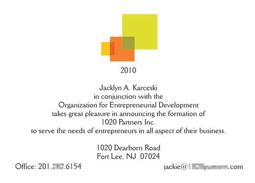 New Business Announcements
