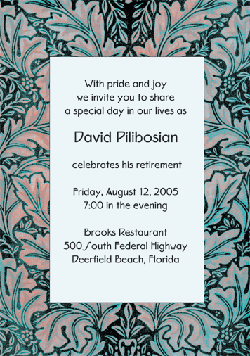 selamat datang ke malaysia' retirement party invitation wording, Party invitations