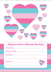 Valentine's Party Invitation