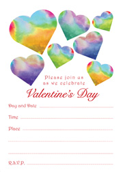 Valentines Party Invitation Download