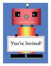 Print Your Own - Birthday Party Invitation for Kids