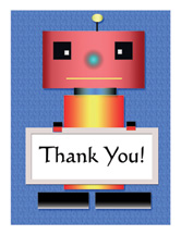 Thank You Card for Kids