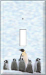 Single Decorated Light Switch Cover