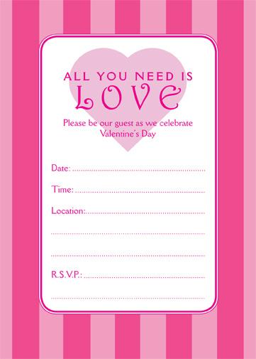 Mesemosttu Valentines Invitations Wording