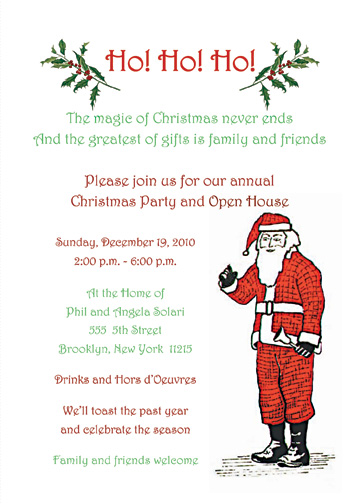 Christmas Party Invitations Christmas Party Invitation Templates