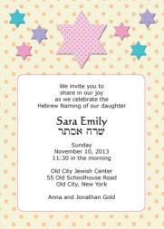 Baby Naming Invitation