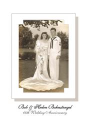 60th Wedding Anniversary Party Invitation