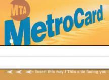 Metro Place Card