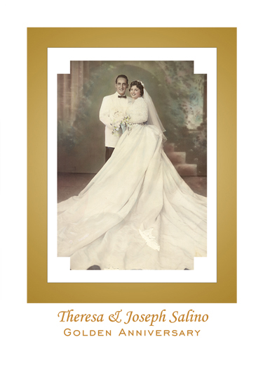 Spanish Wedding Anniversary Party Invitation Style 1R