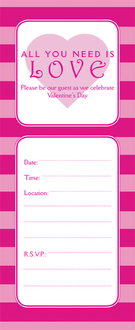 Valentines Day Party Invitation VPIT02No10