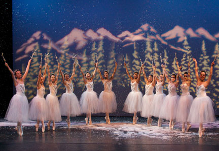 Snowflakes - The Nutcracker