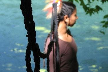 Donna Ahmadi Scalp Lock