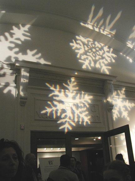 Lighting in BAM Lobby