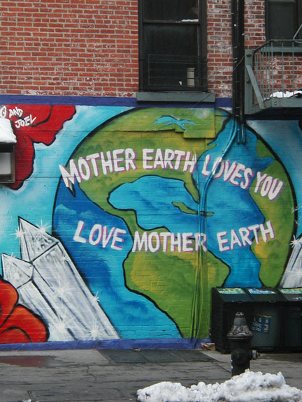 Mother Earth Mural