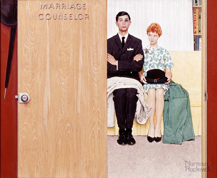 Marriage Counselor - Norman Rockwell
