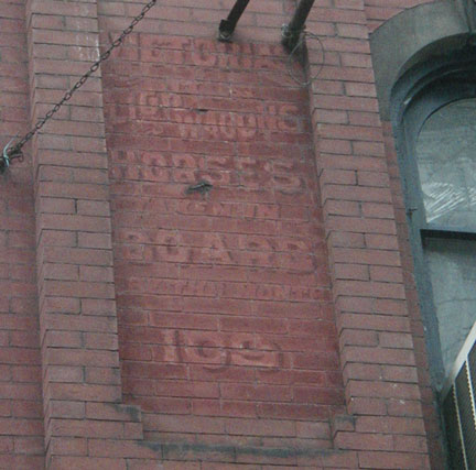 Faded Sign