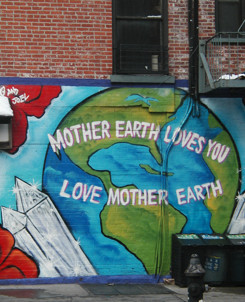 Mother Earth Mural by Chico
