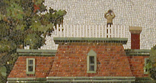 Detail - Bay Ridge Mosaic - Widow's Walk