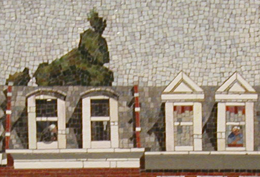 Bay Ridge Row Houses - Mosaic