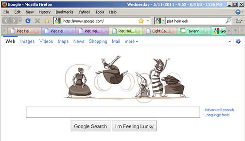Martha Graham Animation on Google by Ryan Woodward