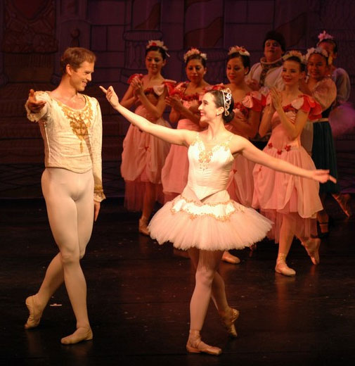 Jenifer Ringer and Charles Askegard - Vicky Simegiatos Dance Company