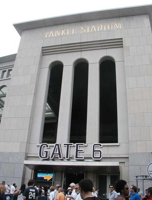 Yankee Stadium - Gate 6