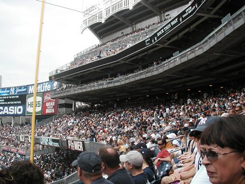 Fans at Yankee Stadium