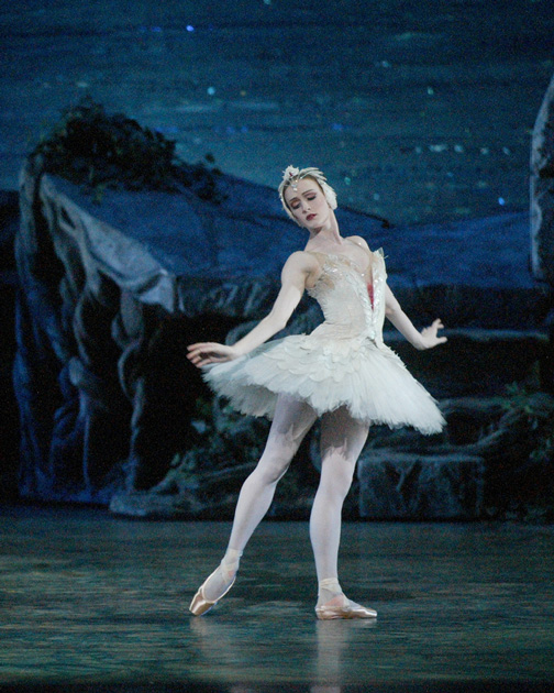 Gillian Murphy as Odette in Swan Lake - Photo by Rosalie O'Connor